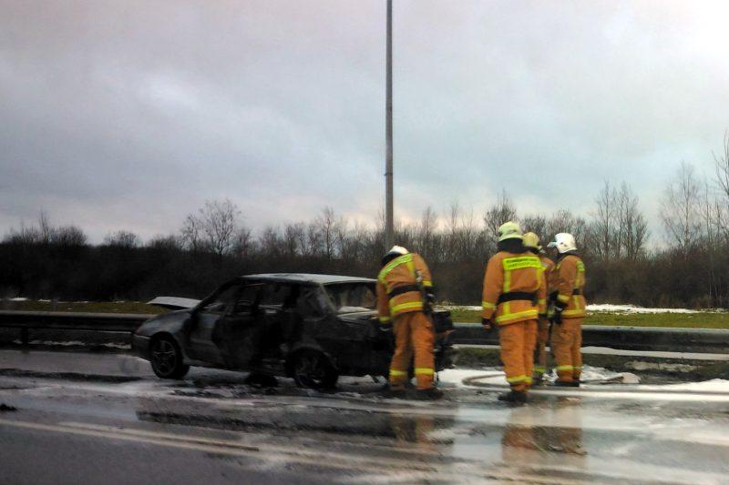 пожар автомобиль пулковское шоссе