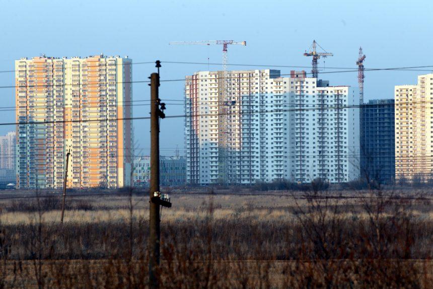строительство жилые дома новостройки Шушары