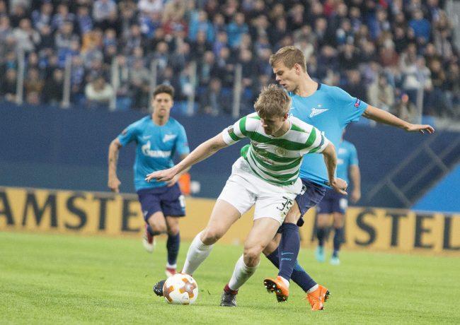 футбольный матч ФК Зенит Селтик Лига Европы