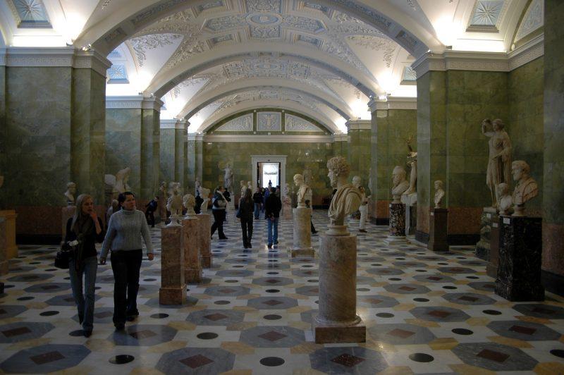 ВЭрмитаже отреставрируют зал античного мира за60 млн руб.