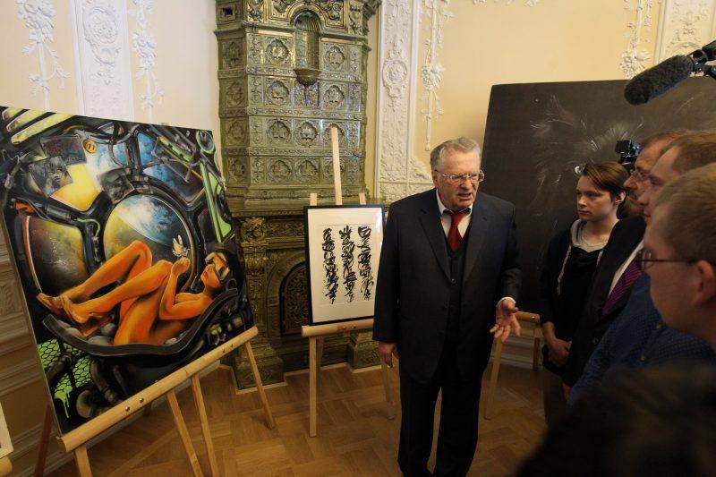 Владимир Жириновский картины
