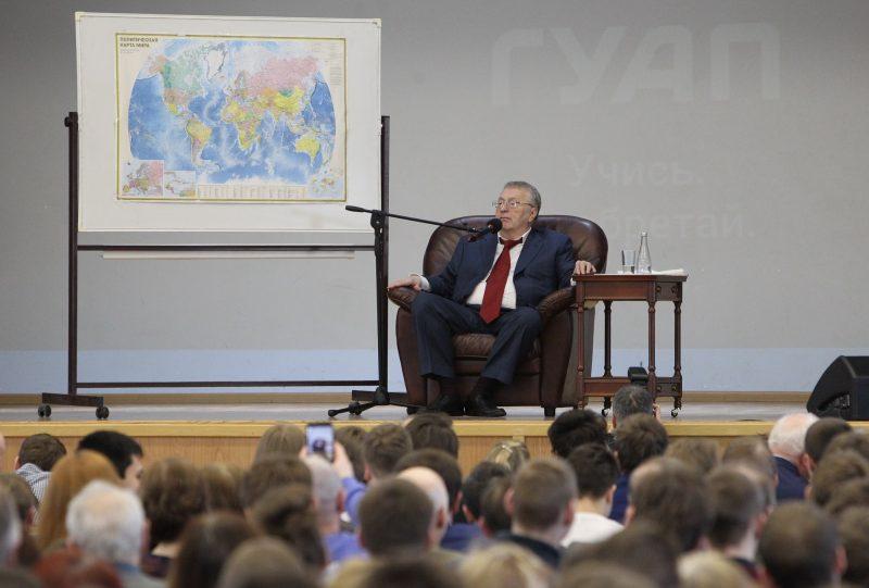 Владимир Жириновский выступление в ГУАП