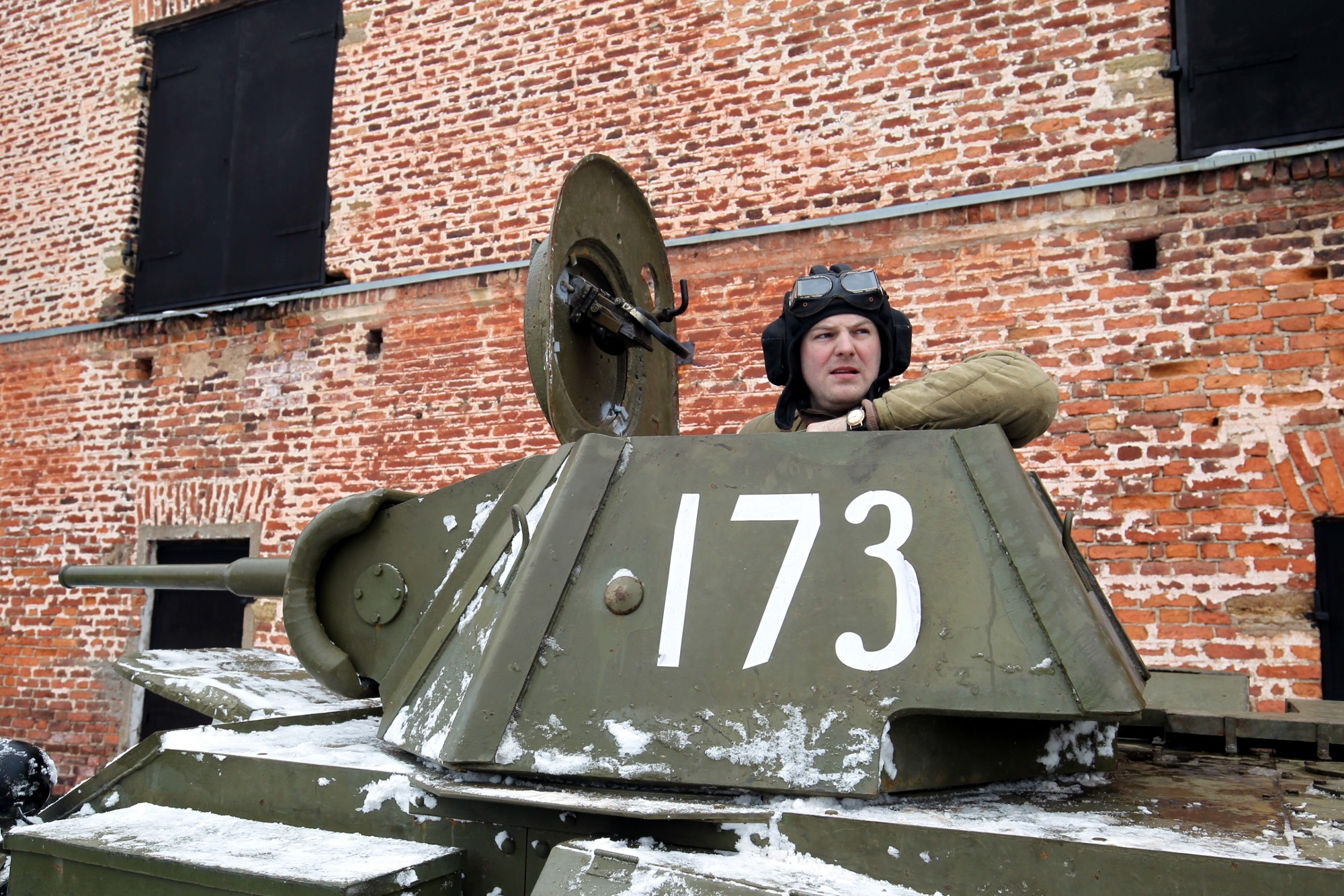 ВКронштадте реконструируют последний бой вСталинградской борьбе