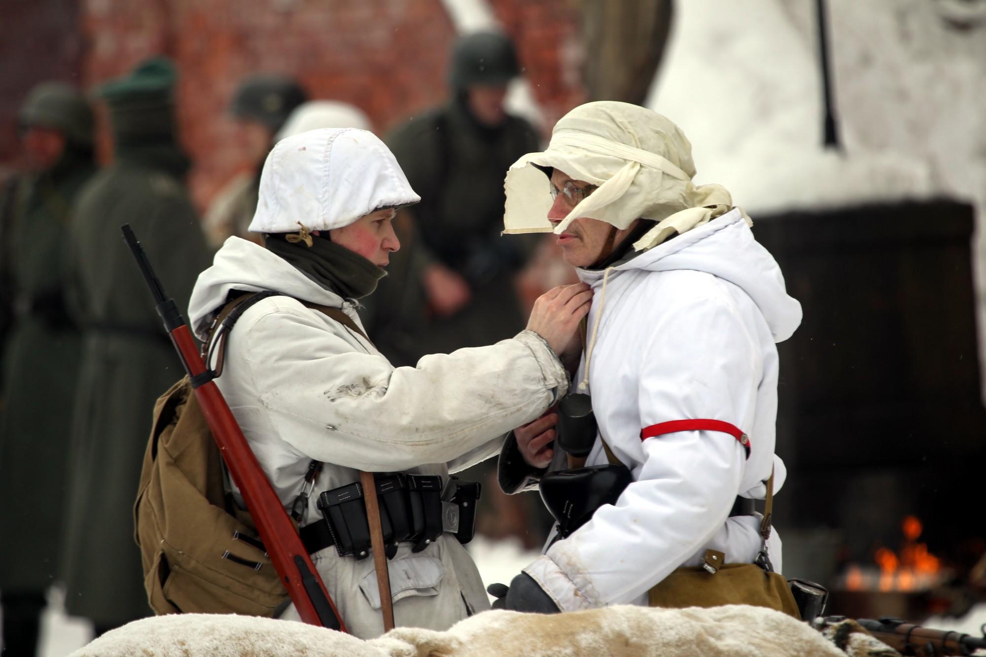Сегодня вКронштадте пройдет масштабная реконструкция Сталинградской битвы