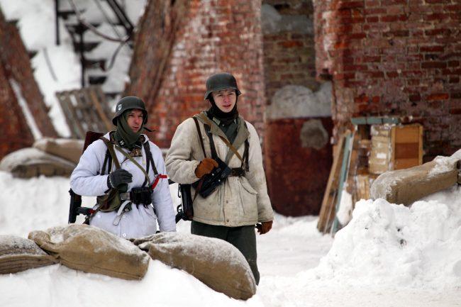 реконструкция Сталинградская битва Вермахт