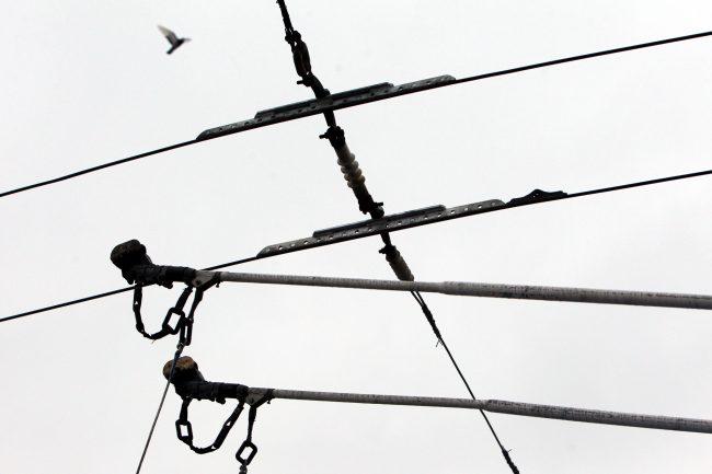 троллейбус № 2 электробус токоприёмники контактная сеть