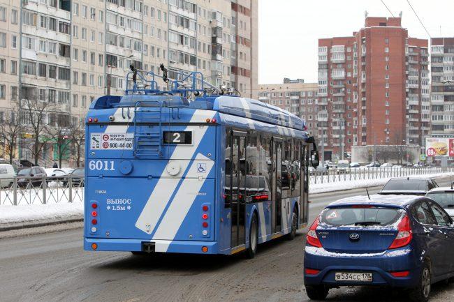 троллейбус № 2 электробус