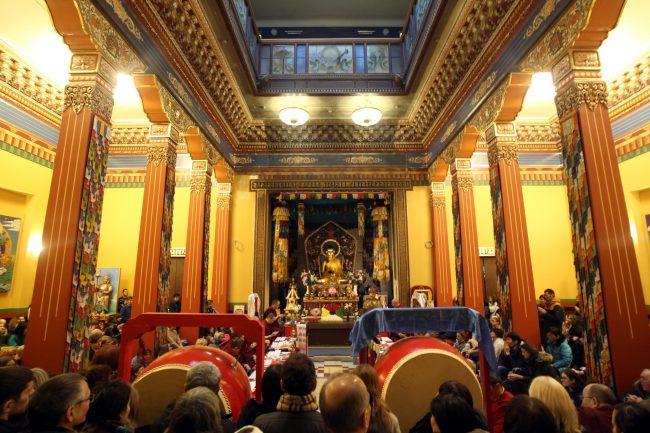 буддизм Сагаалган Дугжууба восточный новый год в дацане Гунзэчойнэй