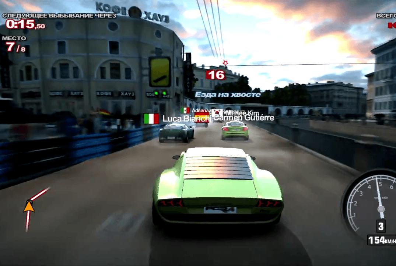 кадр из игры Project Gotham Racing 4 16