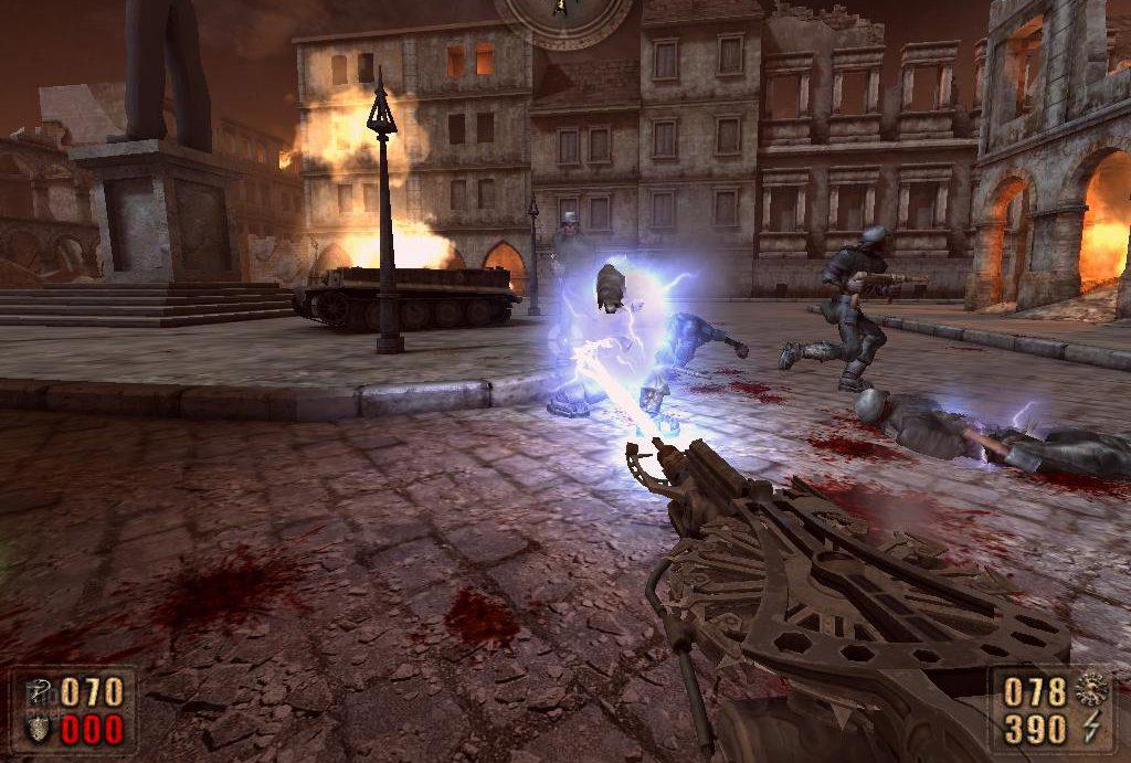 кадр из игры Painkiller: Battle Out of Hell