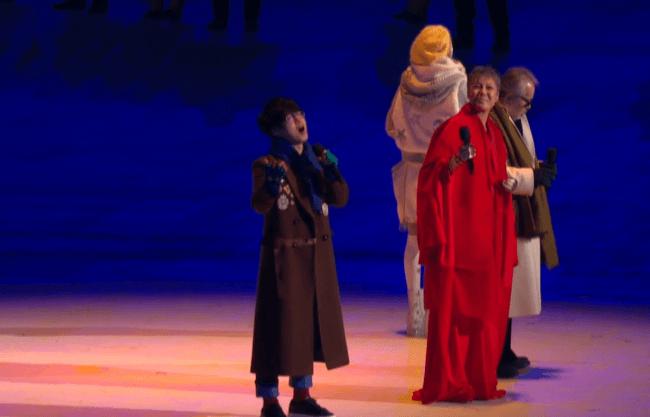 Открытие Олимпиады в Пхёнчхане