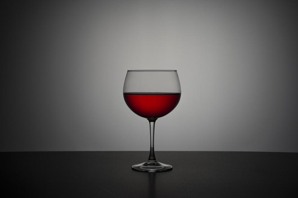 вино, бокал, алкоголь