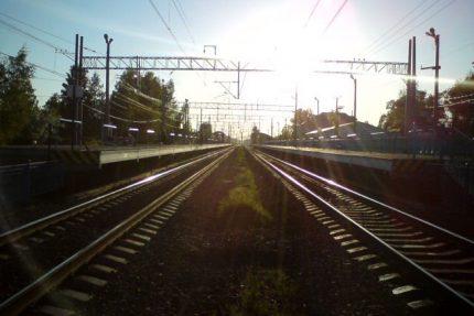 железнодорожная станция Левашово железная дорога
