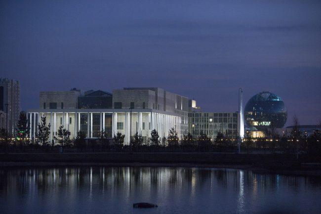 Астана Казахская национальная академия балета