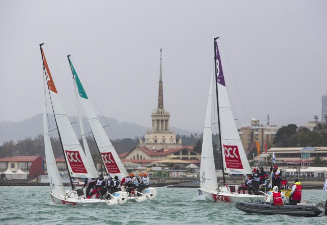 яхтенный спорт Национальная парусная лига Сочи