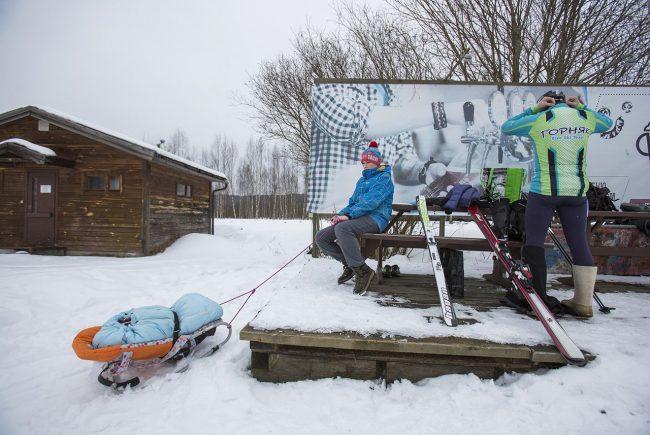 ски-альпинизм лыжный спорт Коробицыно