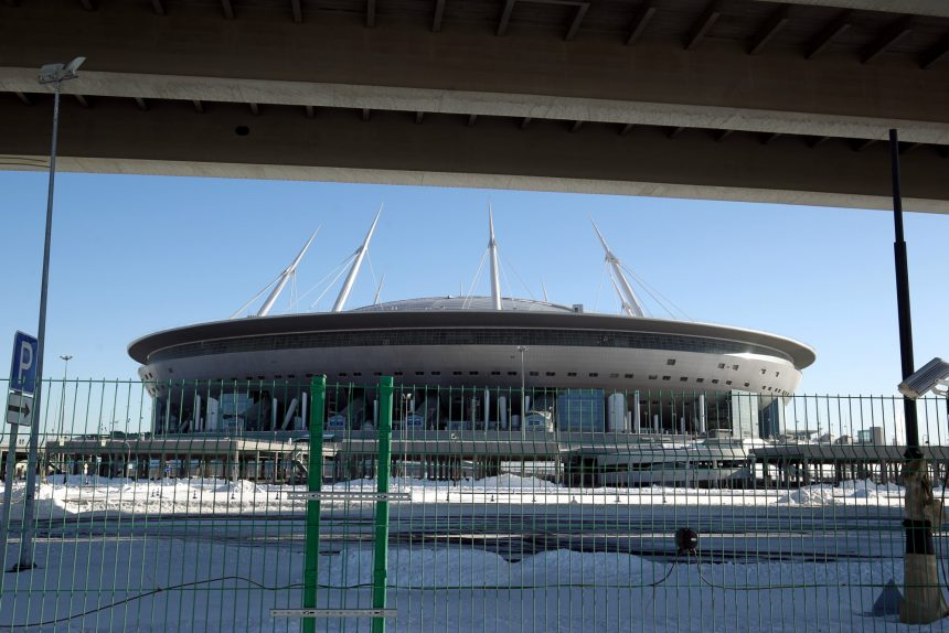 стадион Санкт-Петербург на Крестовском острове Зенит-Арена ЗСД