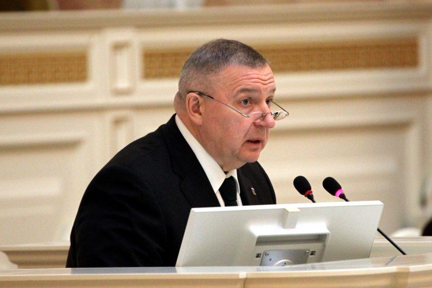 Сергей Никешин депутат Законодательного Собрания ЗакС ЗС