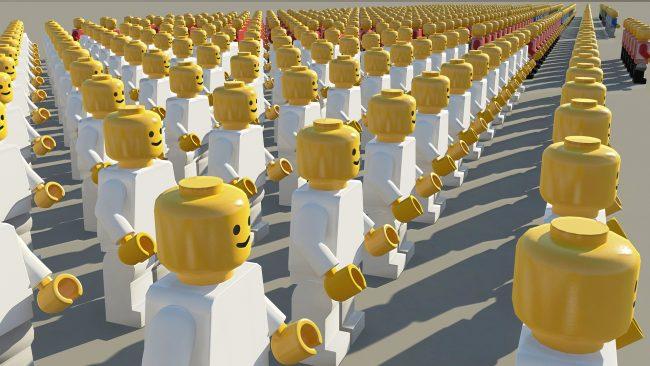 выборы, лего, толпа, люди, голосование