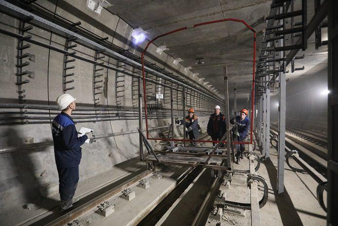 рама тест новокрестовская строительство метро