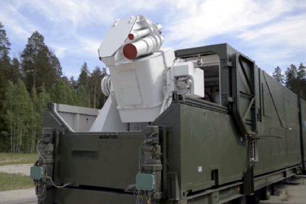 боевой лазерный комплекс Пересвет