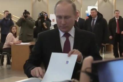 путин голосует