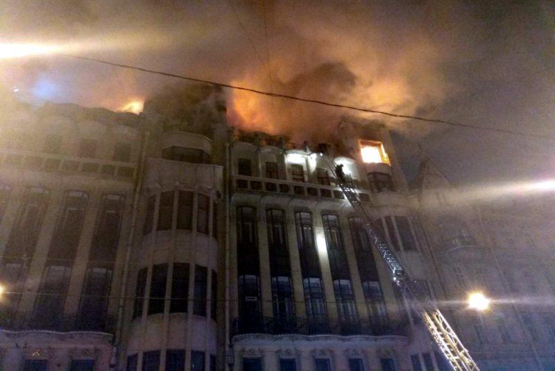 пожар дом Танского улица Куйбышева 21