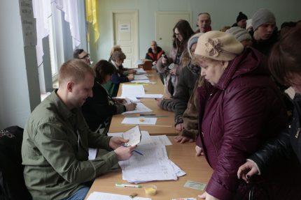 выборы президента 2018 голосование избирательный участок