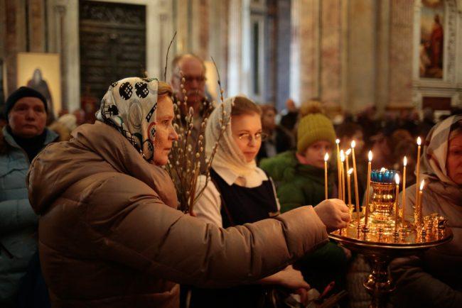 детский крестный ход вербное воскресенье