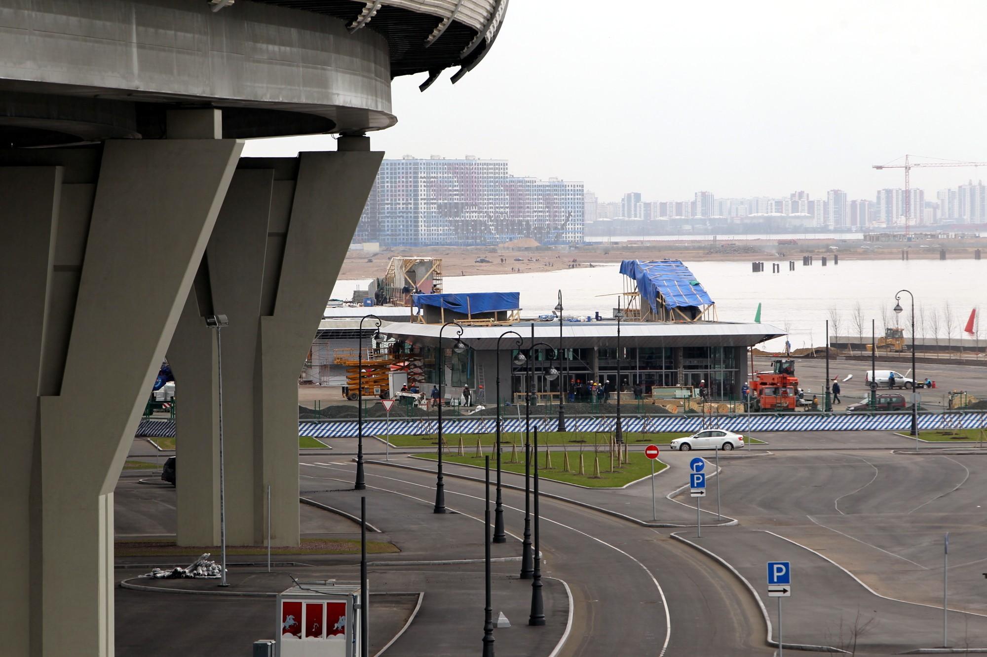 станция метро Новокрестовская строительство
