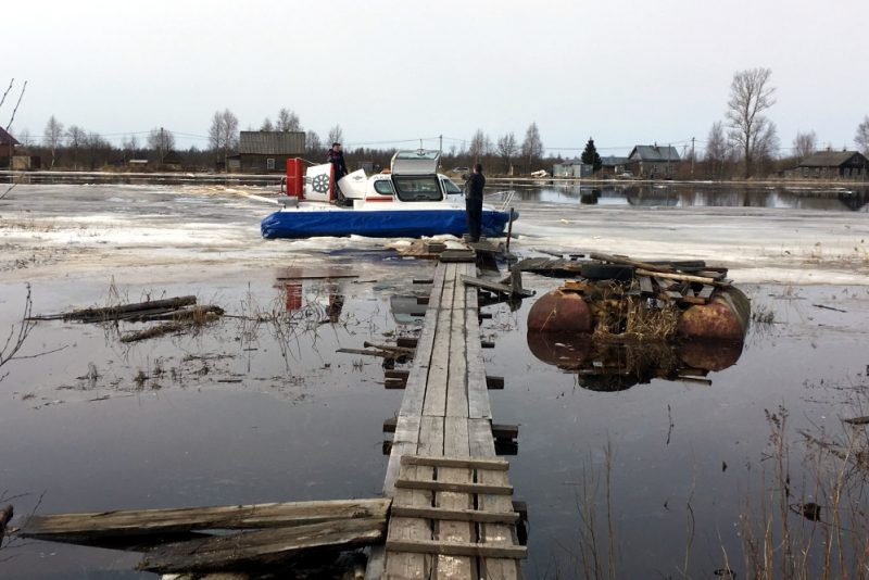 наводнение паводок таяние льда