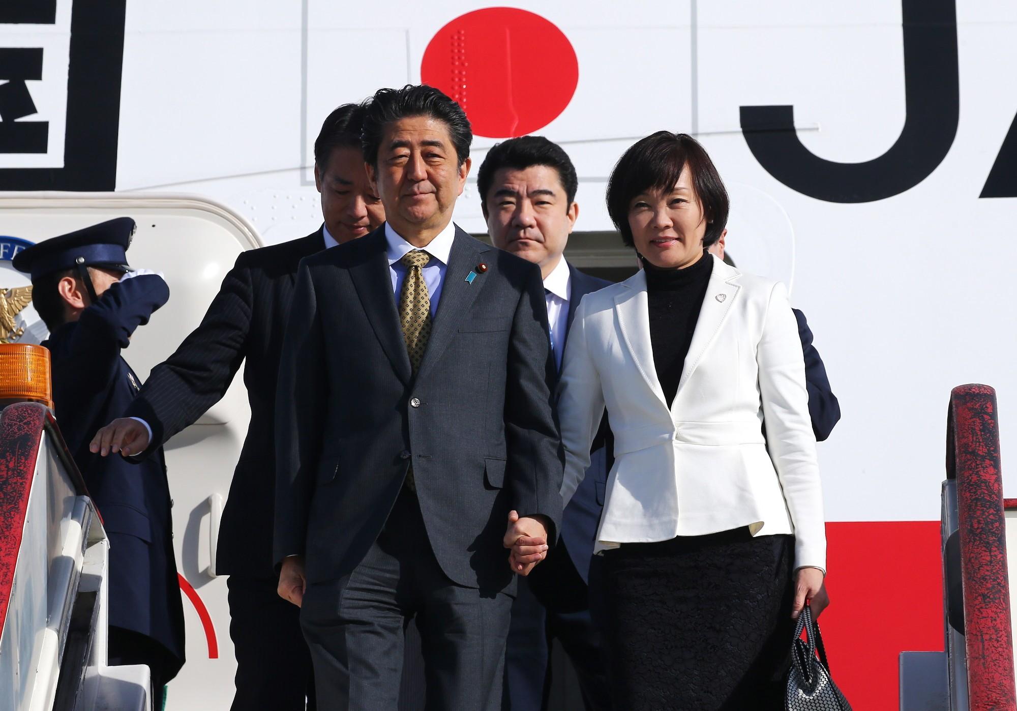 ПМЭФ Синдзо Абэ премьер Японии