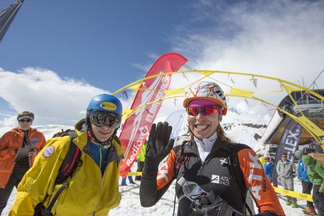 фестиваль экстремальных видов спорта Red Fox Elbrus Race лыжный спорт Вероника Майерхофер и Иоганна Эрхарт