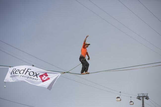 фестиваль экстремальных видов спорта RedFox Elbrus Race горный спорт канатоходец