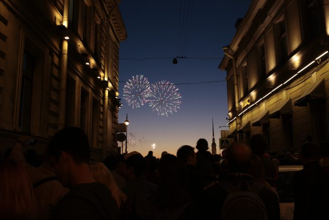 салют фейерверк день города праздник
