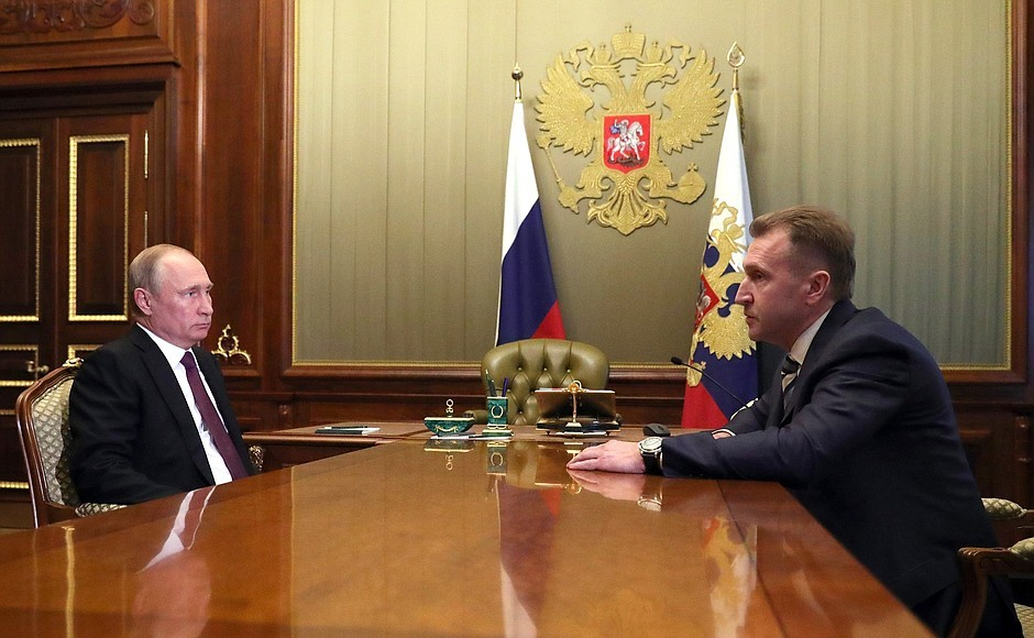 Путин подписал указы оновых постах Рогозина иШувалова