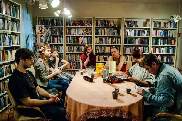 Библиотека Лиговская Ночь музеев