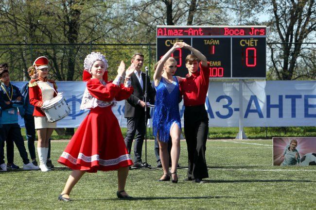 кубок Бурчалкина детский спорт футбол народные танцы