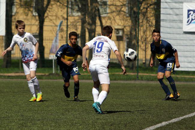 кубок Бурчалкина детский спорт футбол Boca Juniors Алмаз-Антей