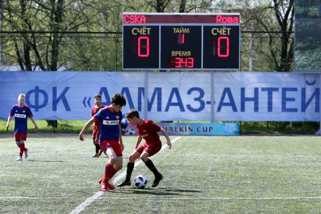 кубок Бурчалкина детский спорт футбол Roma ЦСКА