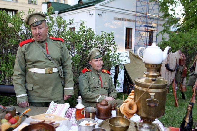 Ночь музеев 2018 музей Суворова реконструкторы армия Российской империи