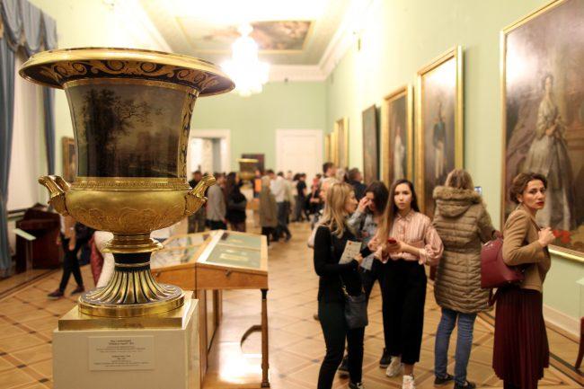 Ночь музеев 2018 Михайловский замок Русский музей вазы живопись картины