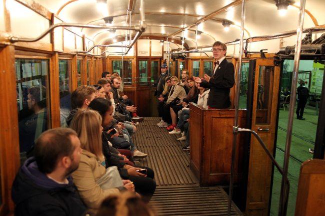 Ночь музеев 2018 музей электрического транспорта ретро трамвай
