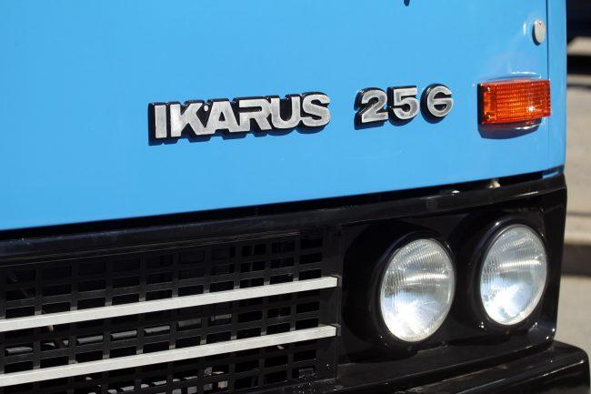 парад ретротранспорта автобус икарус 256
