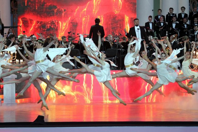 Классика на Дворцовой балет