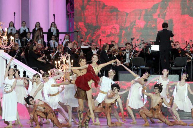 Классика на Дворцовой Ирина Перрен балет