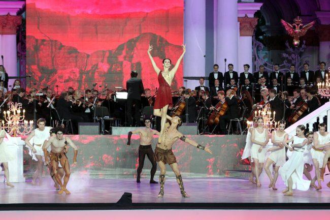 Классика на Дворцовой Ирина Перрен Марат Шемиунов балет