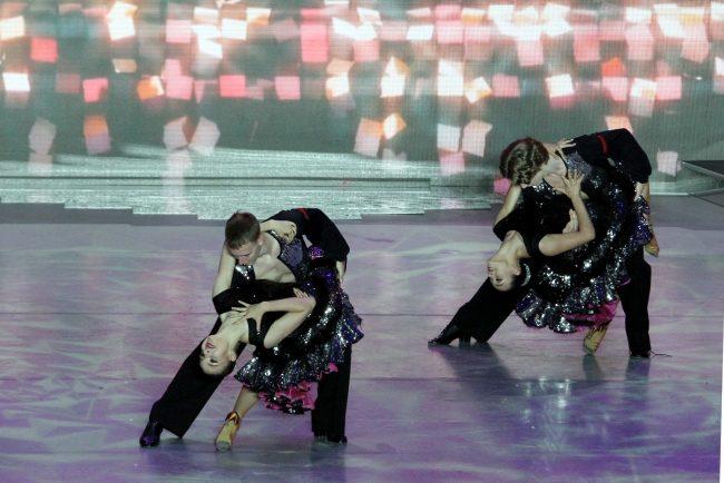 Классика на Дворцовой танец