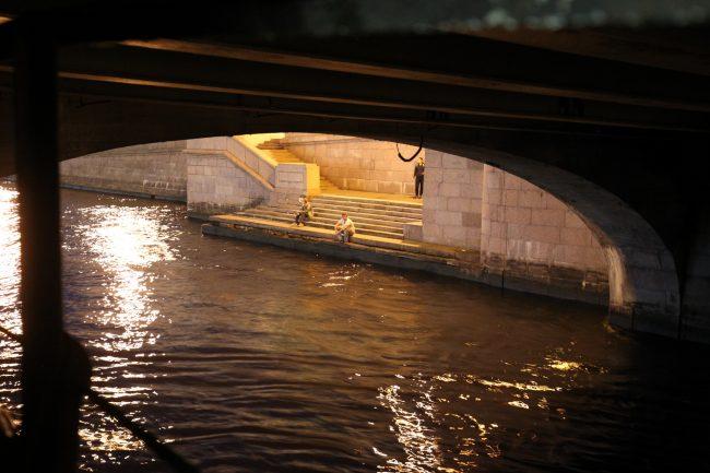 Троицкий мост Нева