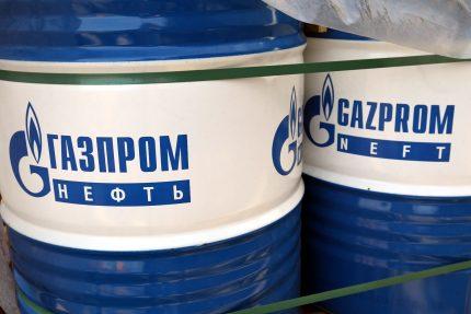 Газпром нефть топливо